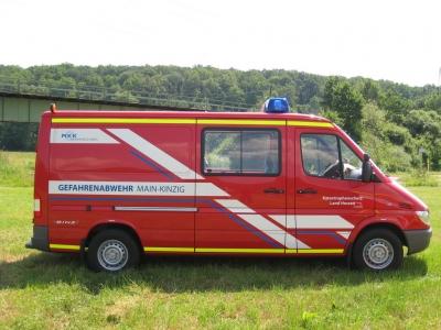 Gerätewagen Strahlenspürtrupp