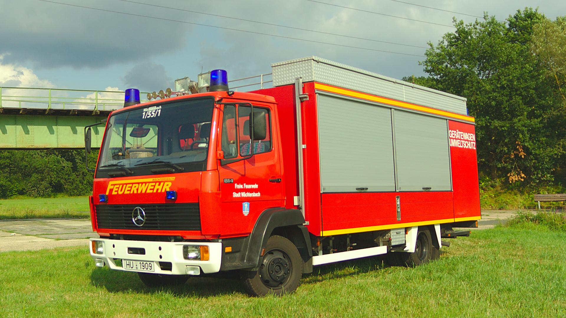 Gerätewagen Gefahrgut der Feuerwehr Wächtersbach