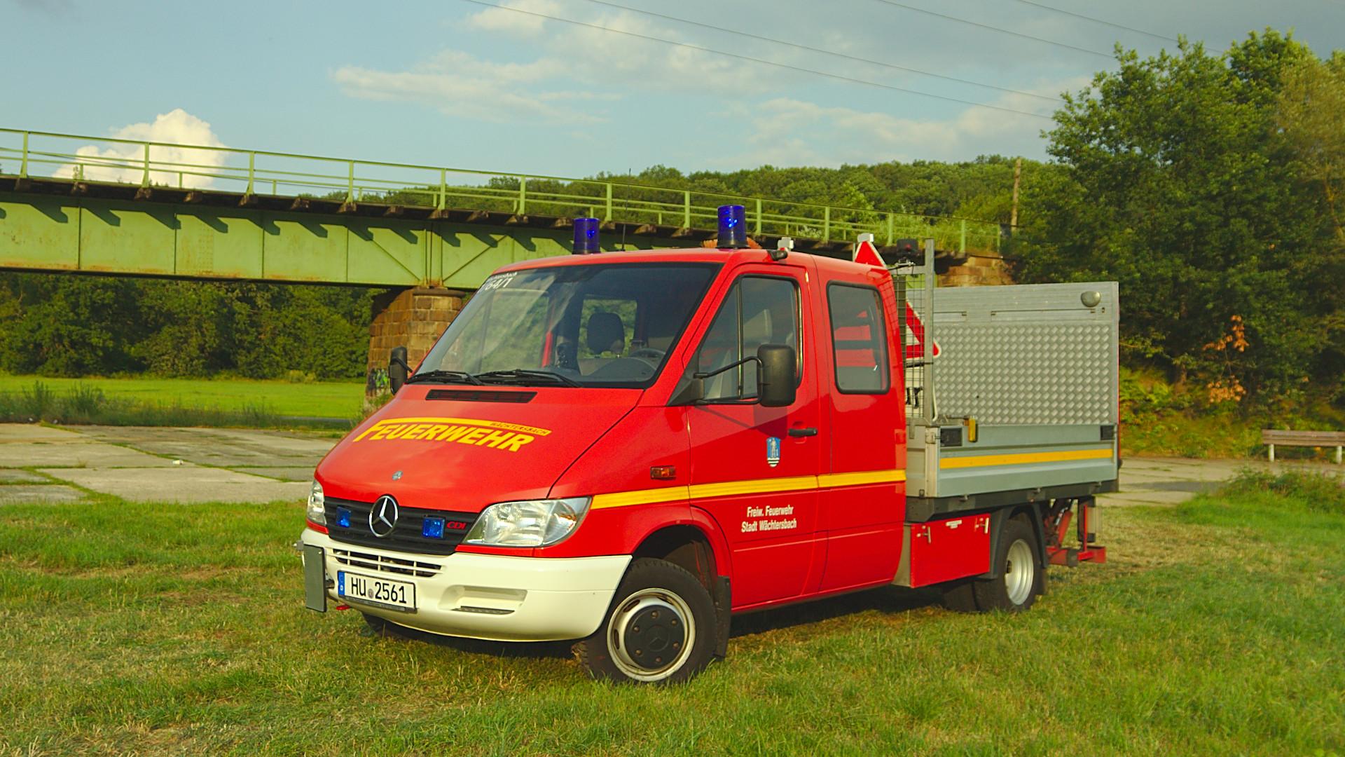 Gerätewagen Nachschub GW-N der Feuerwehr Wächtersbach