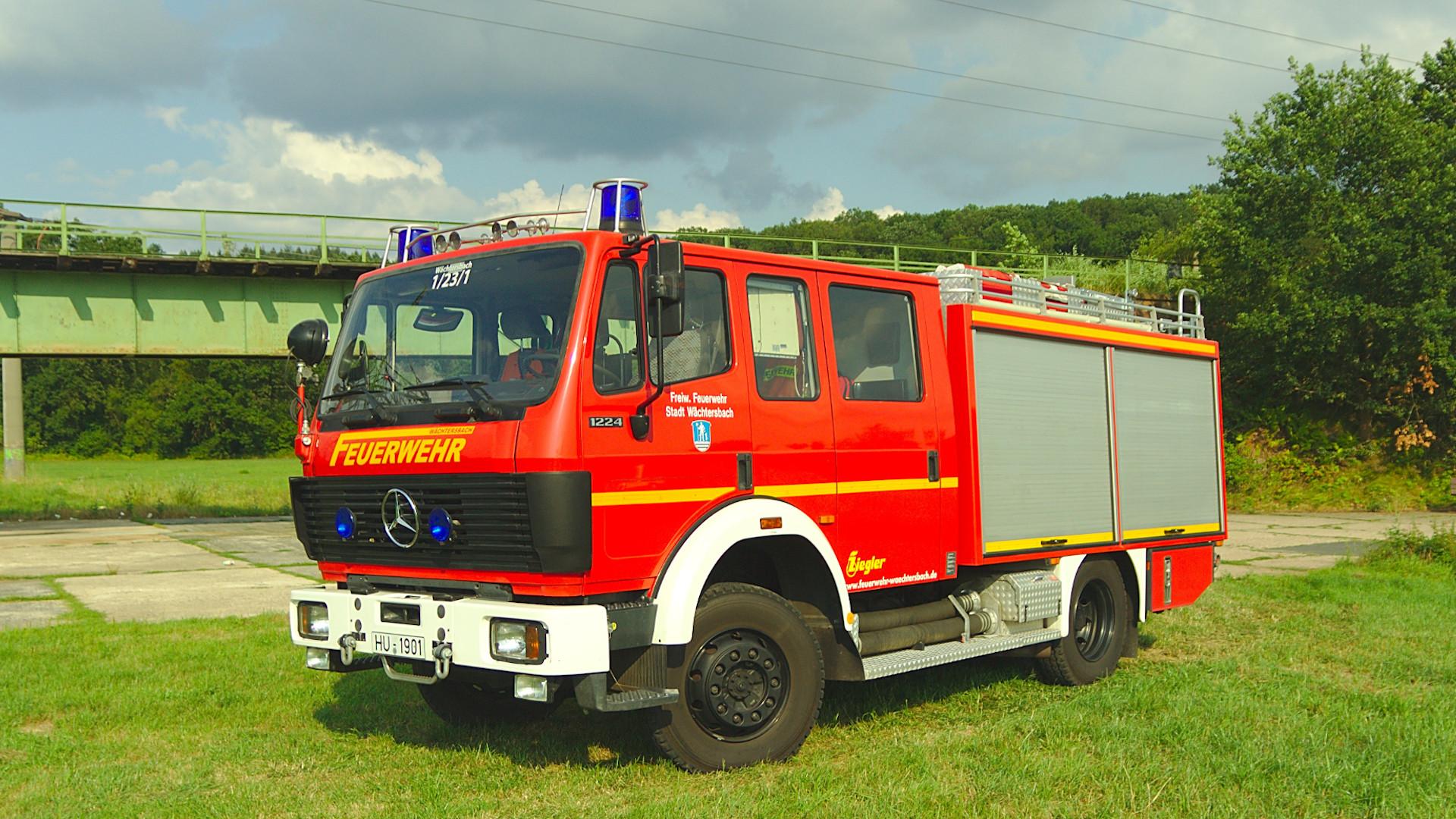 Hilfeleistungstanklöschfahrzeug HTLF 16/25 der Feuerwehr Wächtersbach