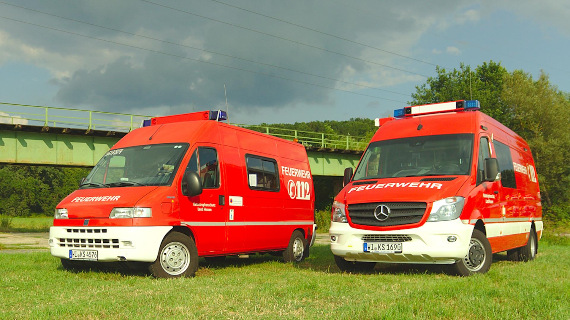 ABC-Erkundungskraftwagen des Bundes und des Landes Hessen