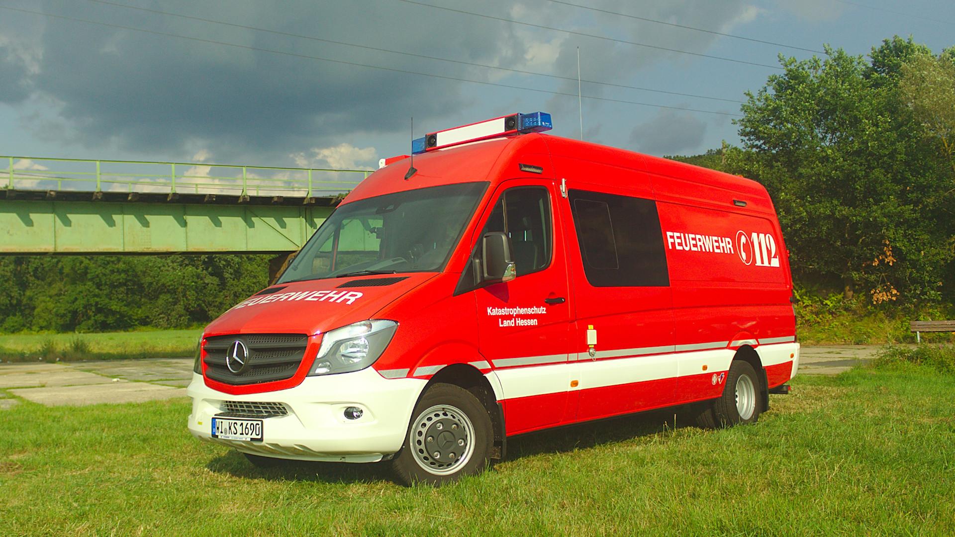 ABC-Erkundungswagen des Landes Hessen