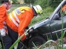 Einsatzübung Verkehrsunfall 2009_11