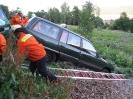Einsatzübung Verkehrsunfall